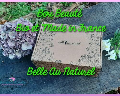La box beauté 100% bio Belle Au Naturel