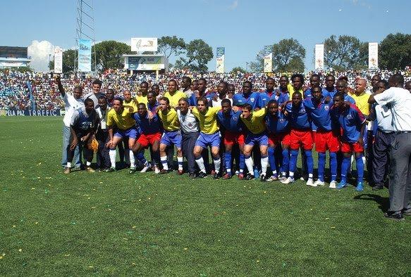 Photo souvenir Match de la paix en 2004