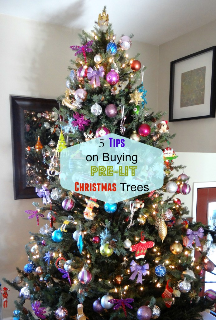 Buying prelit tree