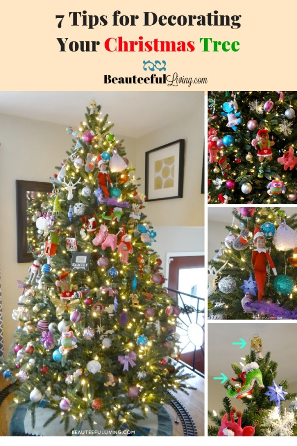 7 Tips for Decorating Christmas Tree - Beauteeful Living
