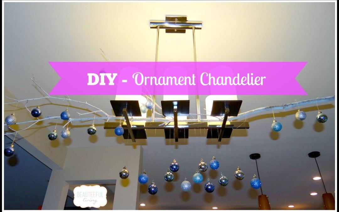 DIY – Ornament Chandelier