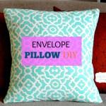 Envelope Pillow DIY