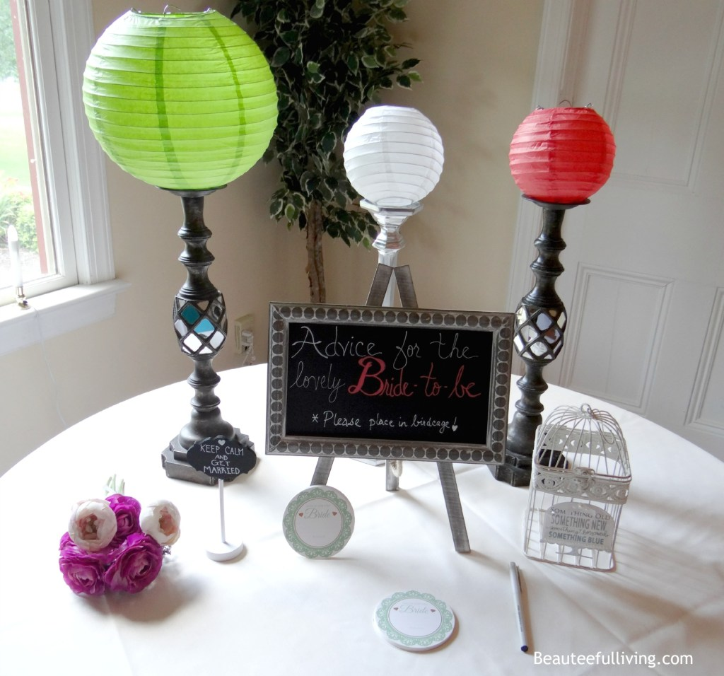 Advice for the bride display beauteefulliving