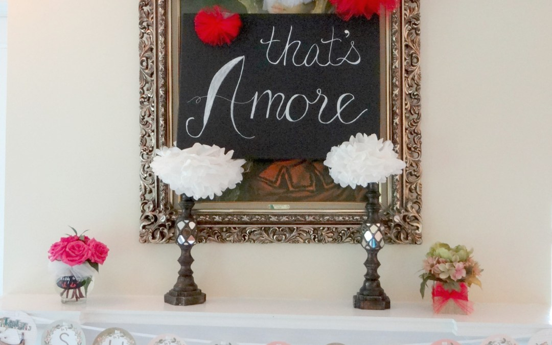 Italian Themed Bridal Shower Decor