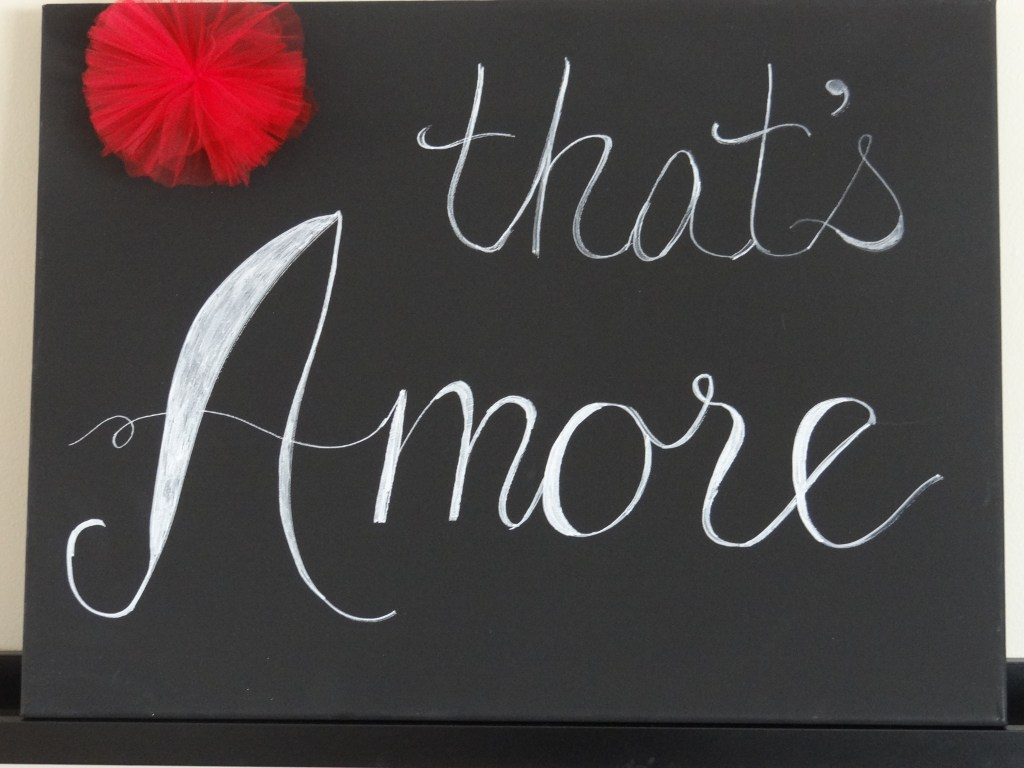 thats amore sign