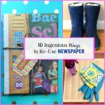 10 Ingenious Ways to Reuse Newspaper