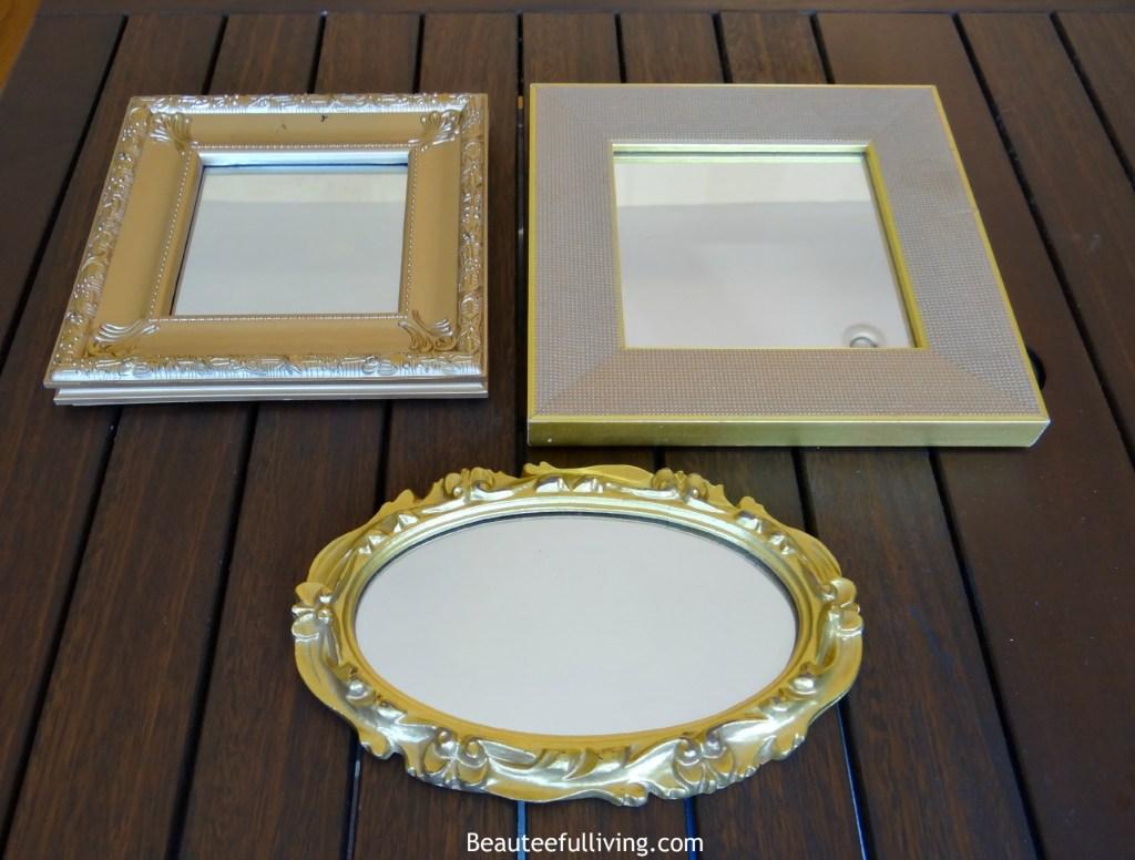 Gold Mirrors