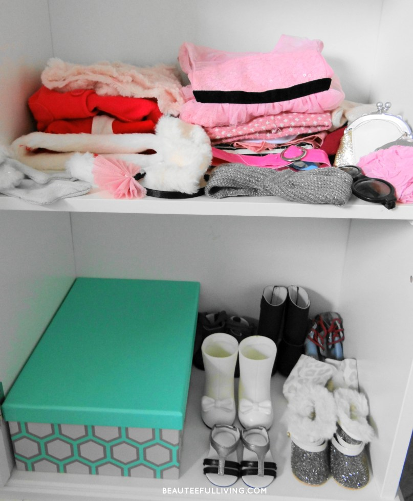 Doll clothes cabinet - Beauteeful Living