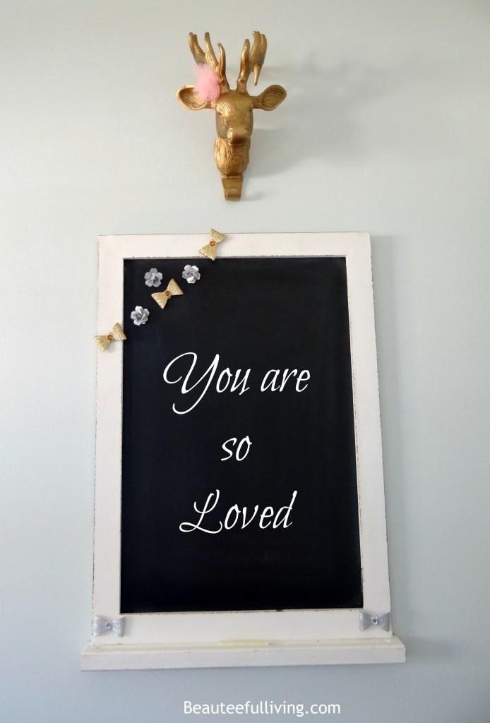 ORC Chalkboard - Beauteeful Living