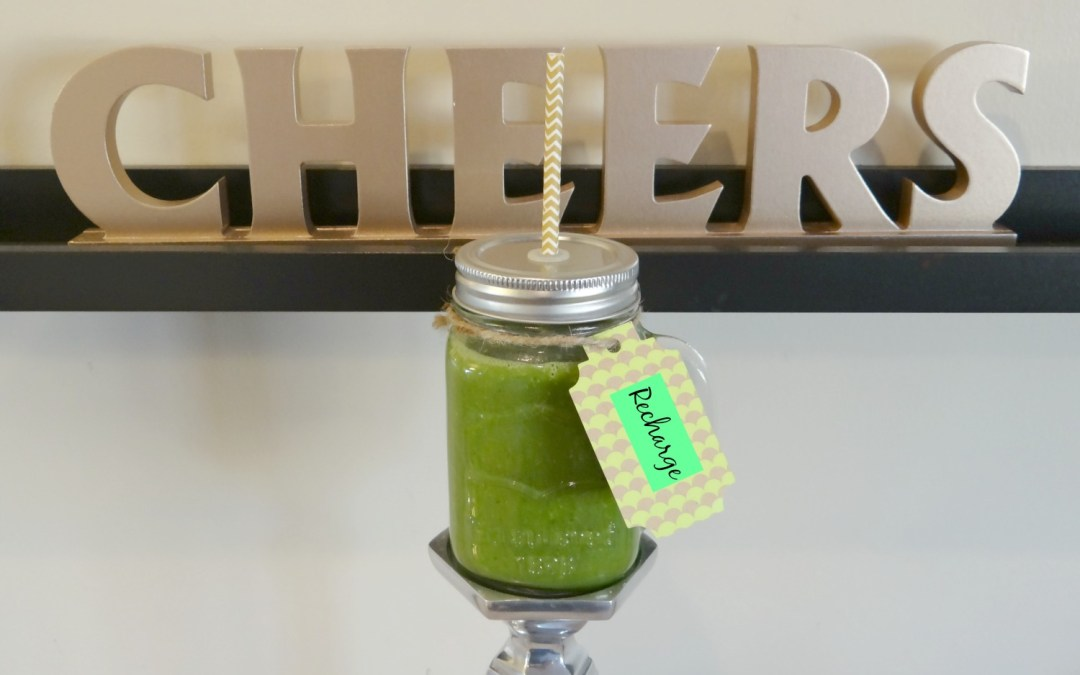 Cheers to Healthy Starts – NM Fit Daily Recharge Smoothie