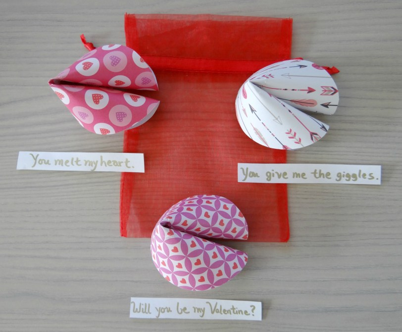 Paper Fortune Cookies - Beauteeful Living