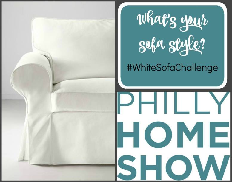 Philly Home Show Ikea White Sofa Challenge