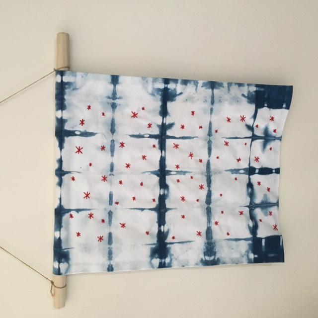 Final Product - Indigo Hanging