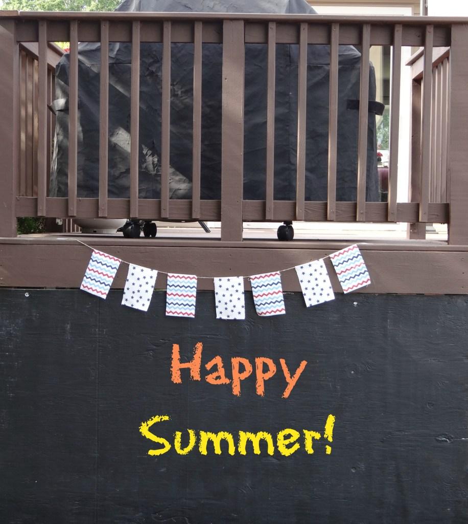 Outdoor Chalkboard - Beauteeful Living