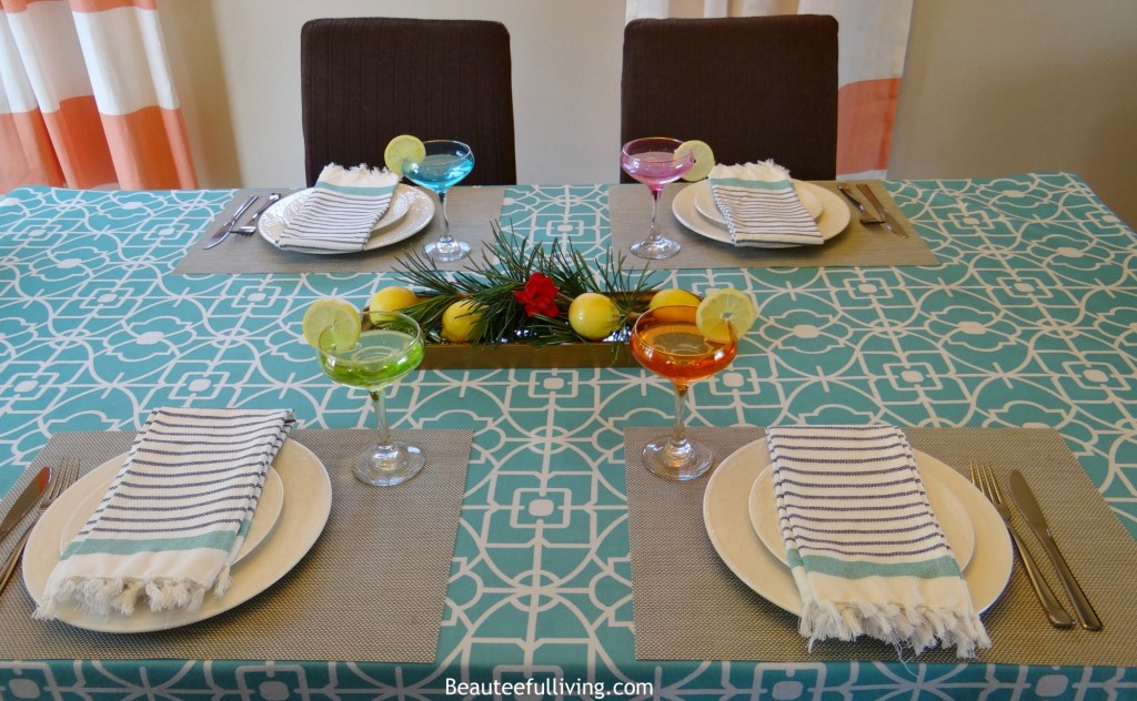 Summer tablescape - Beauteeful Living