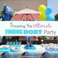 Throwing The Ultimate Finding Dory Party