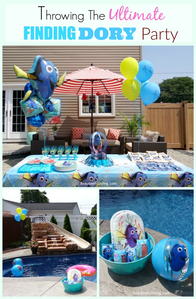 Throwing The Ultimate Finding Dory Party - Beauteeful Living