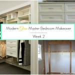 Modern Glam Master Bedroom Makeover – ORC Week 2