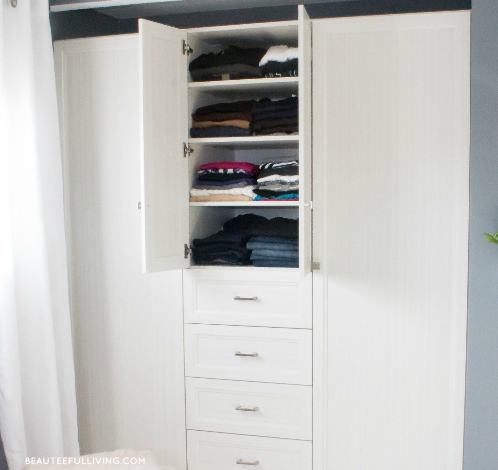Closet Possible Armoire Middle Shelves - Beauteeful Living
