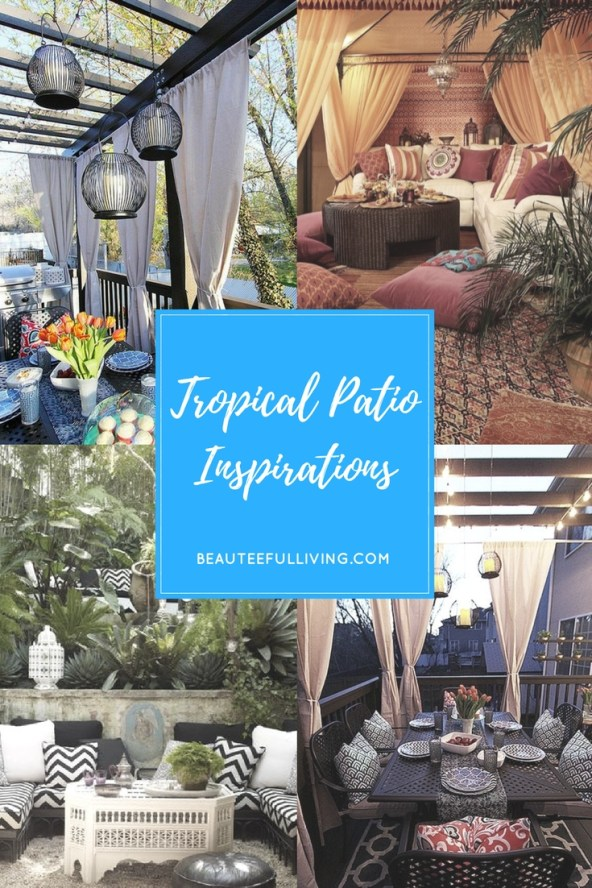 Tropical Backyard Inspirations - Beauteeful Living