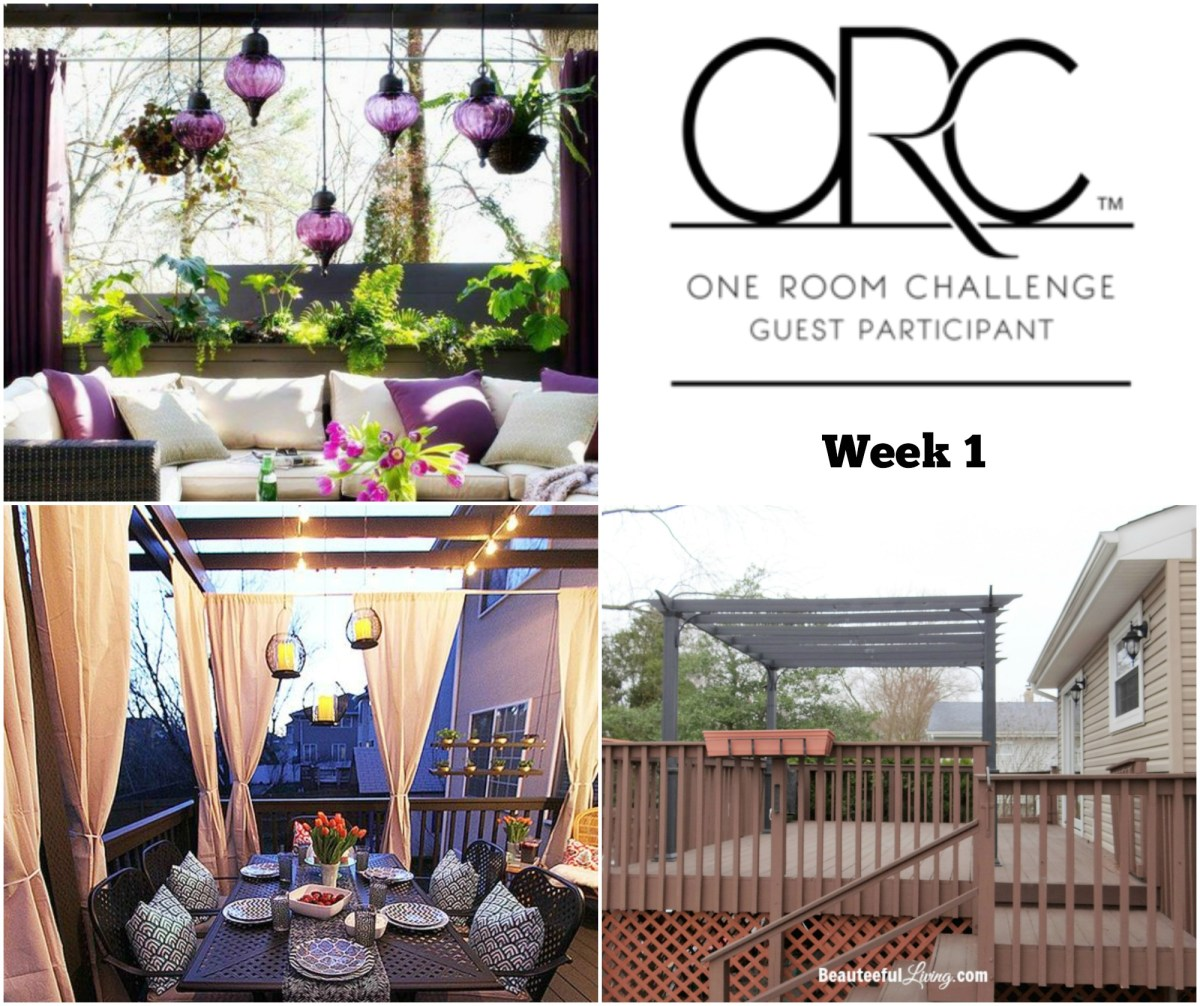 Tropical Patio Makeover - ORC Week 1