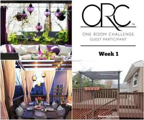 Tropical Patio - One Room Challenge Week 1