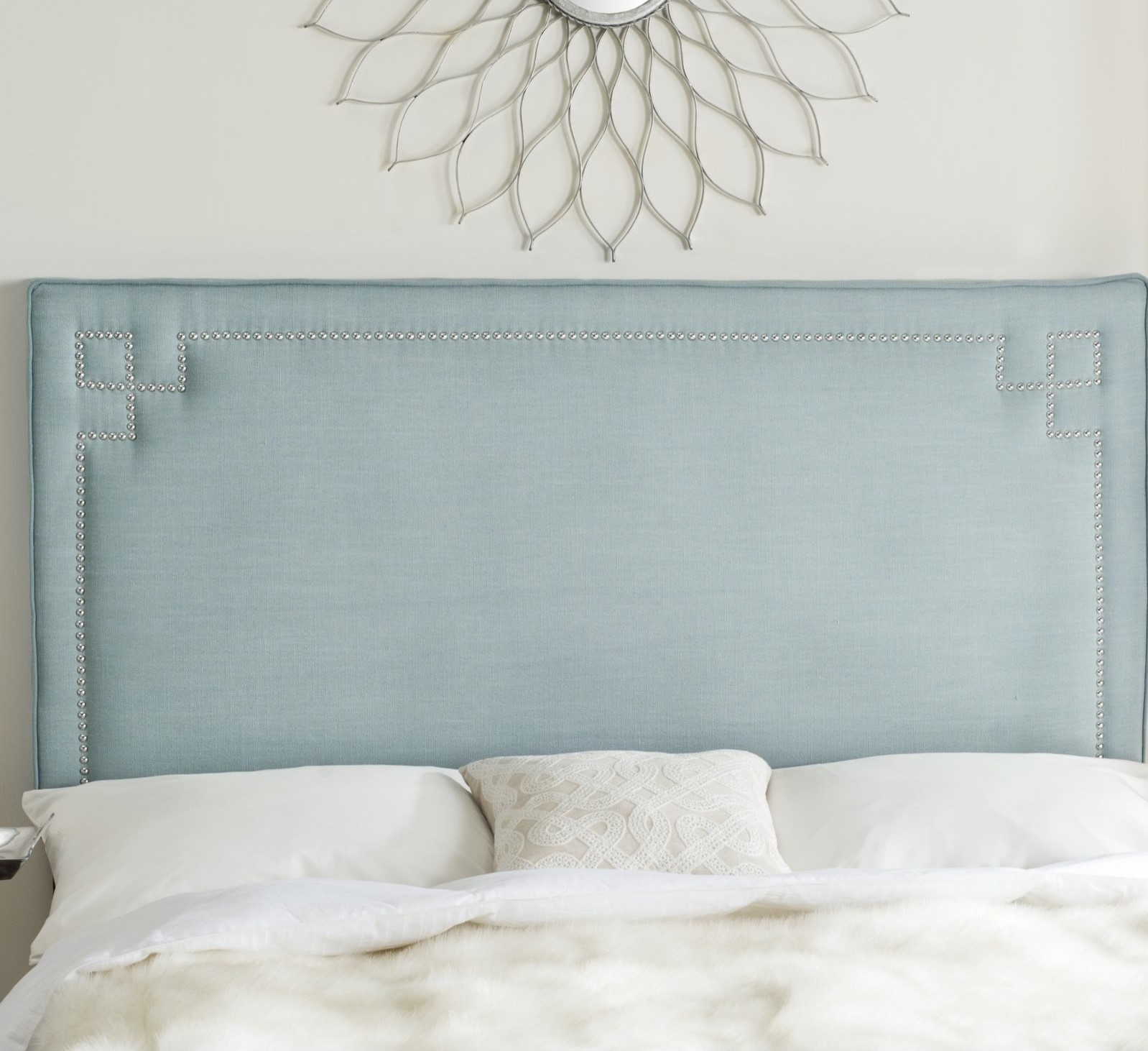 tufted navy teal ways gray beautiful with headboard to pin decorate velvet blue walls paint gentlemans sherwin williams wall