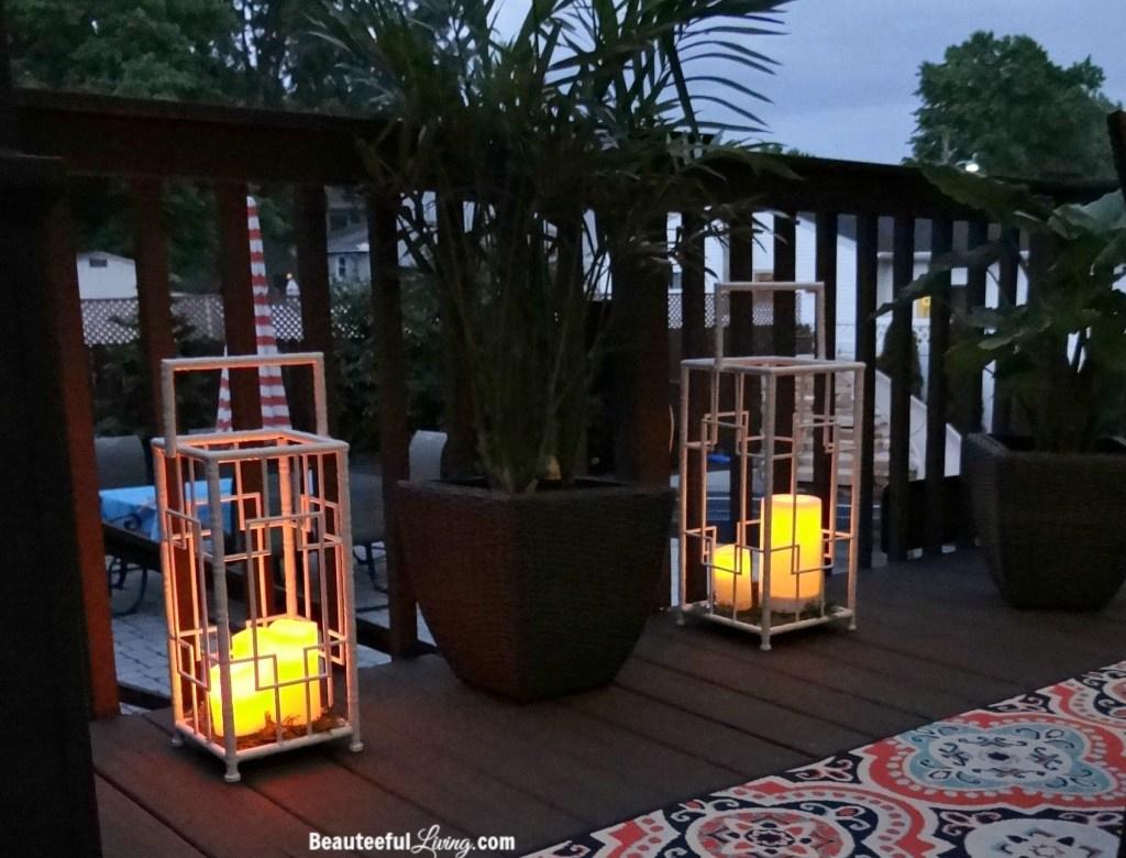 Outdoor lanterns - Beauteeful Living