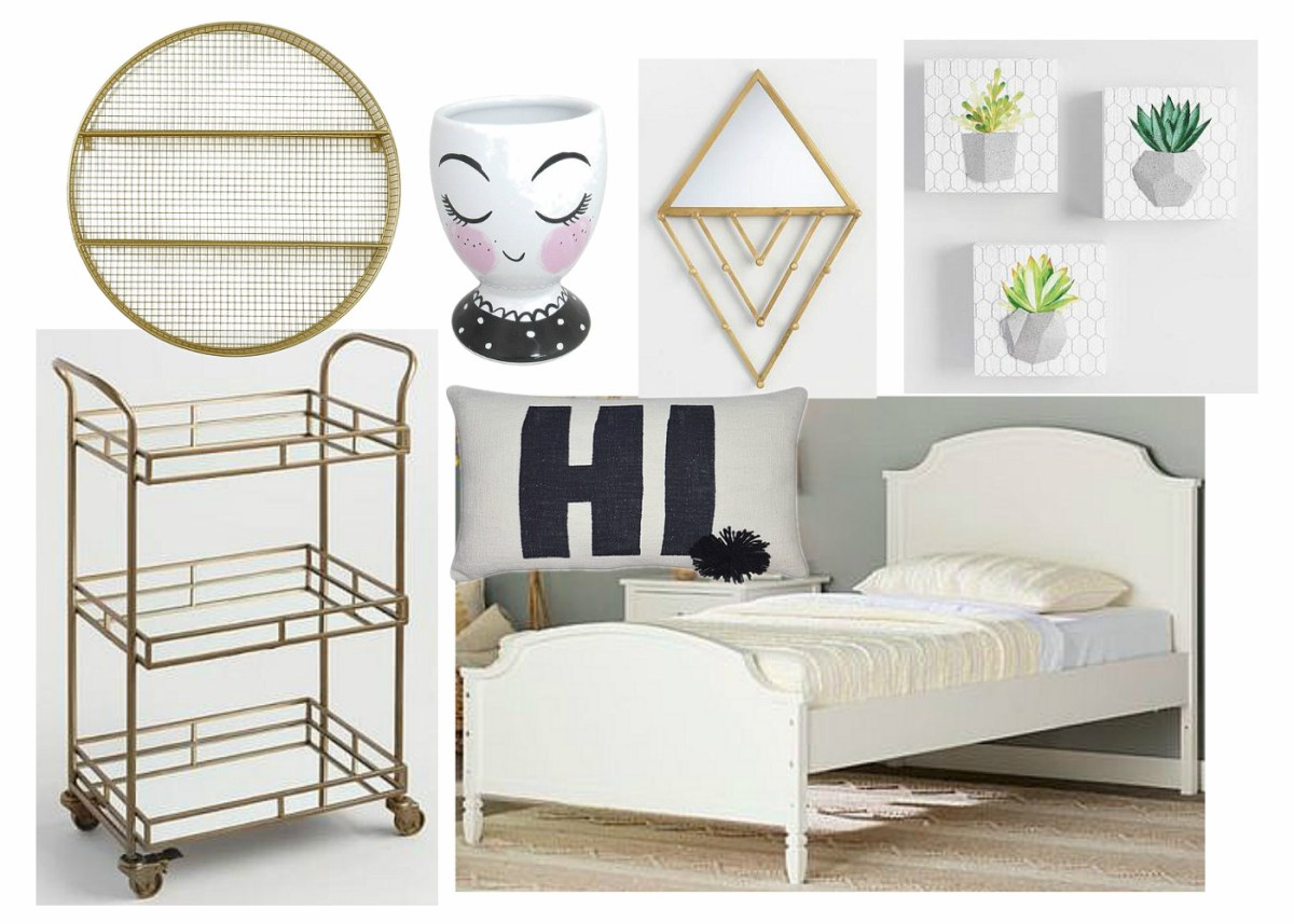 Hipster Chic Girl's Room - ORC Week 3