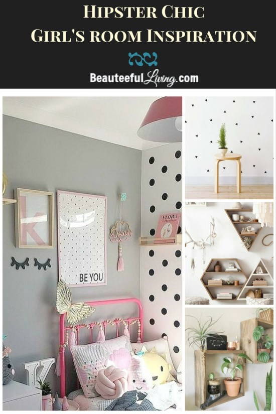 Hipster Chic Girls Room - Beauteeful Living