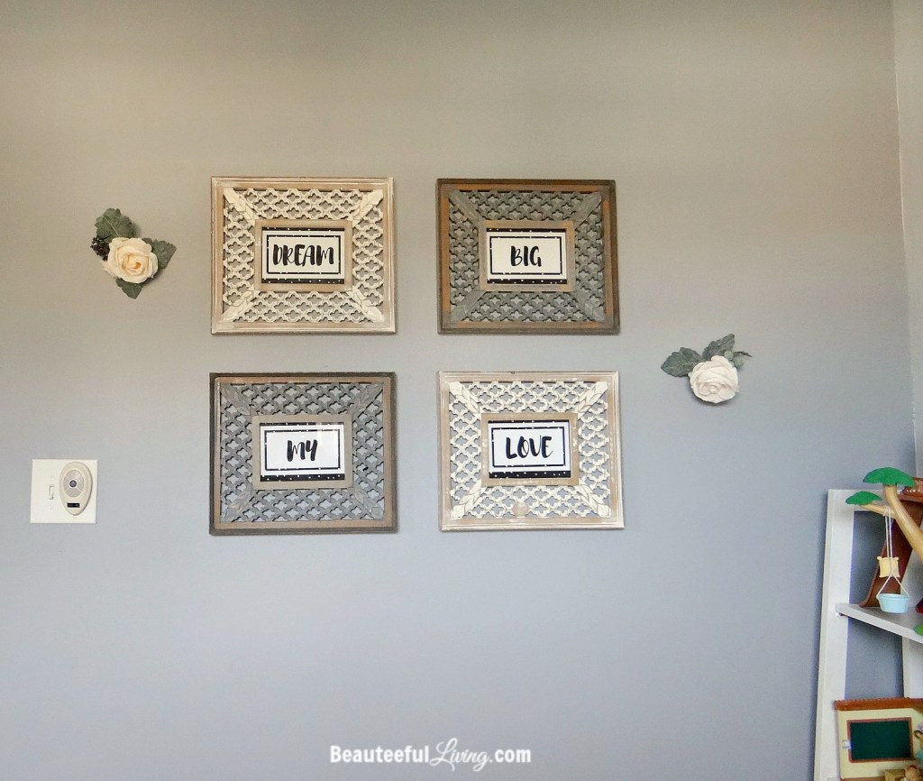 Dream Big My Love Wall Frames - Beauteeful Living