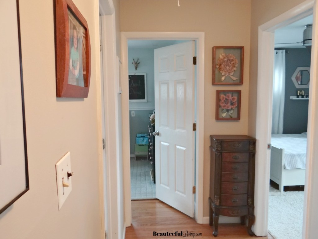 Bedroom Hallway View