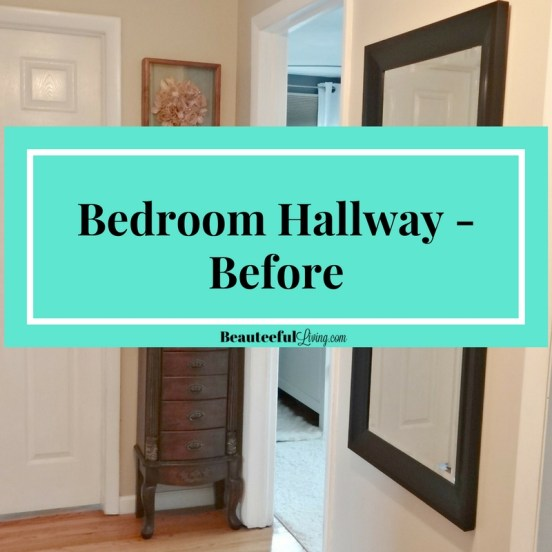 Bedroom hallway - before