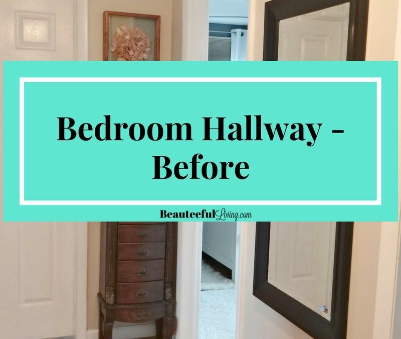 Bedroom Hallway – Before