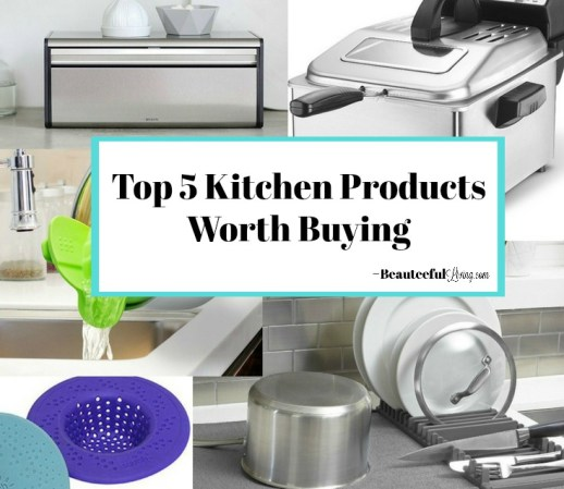 Top Kitchen Products - Beauteefull Living