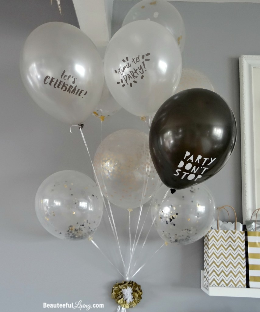 Confetti Party Balloons - Beauteeful Living