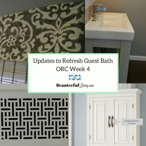 Updates to Refresh Guest Bath