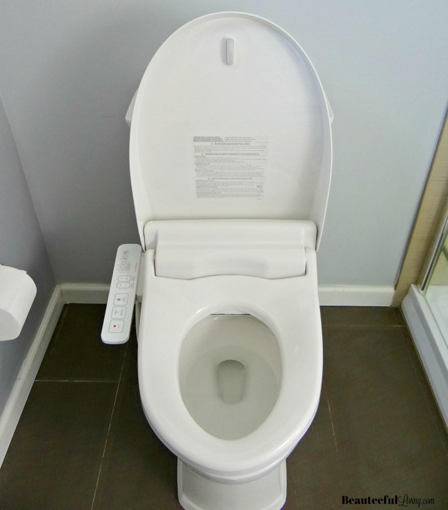 American Standard Bidet Seat - Lid Up
