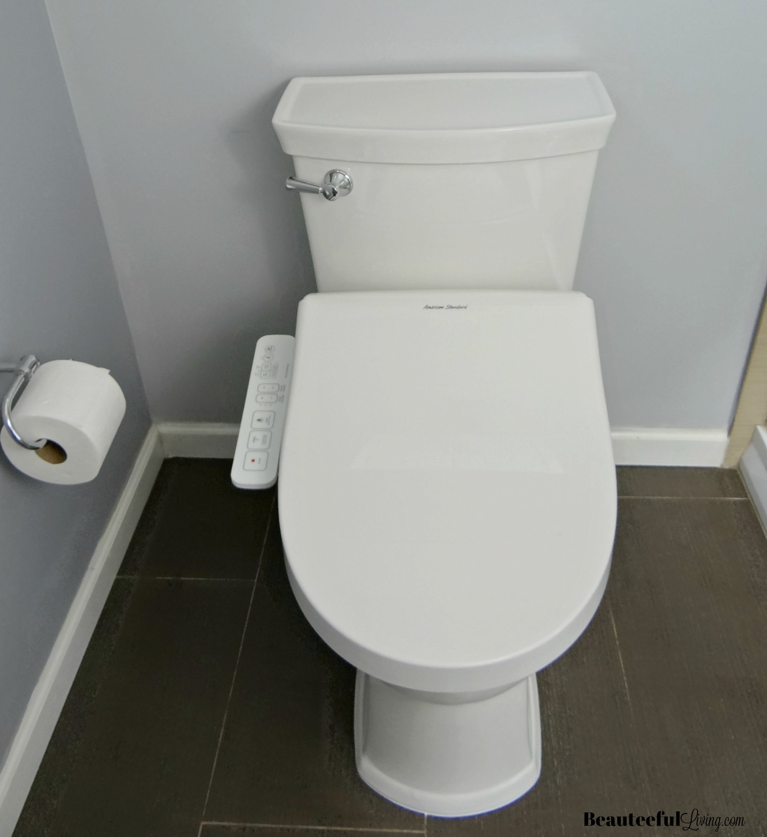 American Standards new VorMax toilets use a redesigned flushing  system.Click To Enlarge