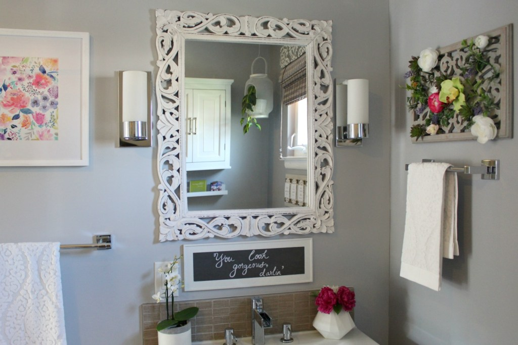 Spa Inspired Bathroom - Beauteeful Living