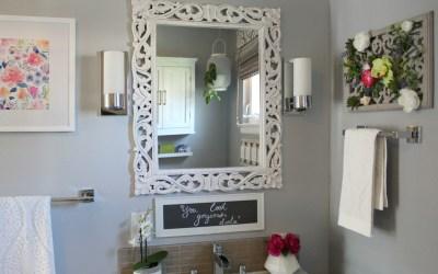Spa-Inspired Guest Bathroom Reveal – ORC Week 6