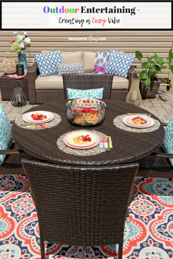 Outdoor Entertaining - Beauteeful Living