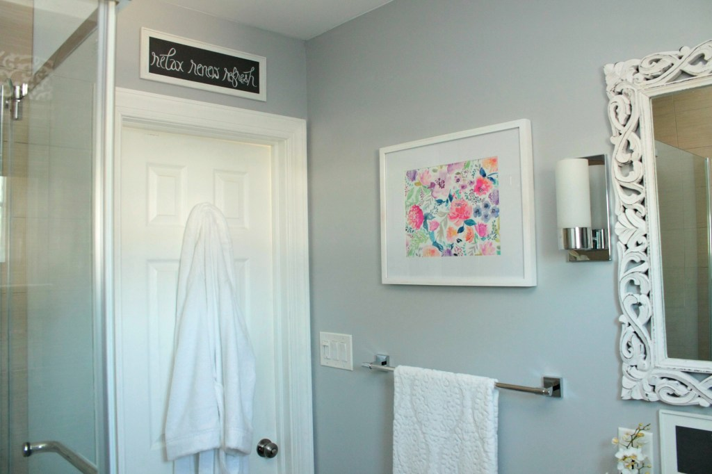 Spa Inspired Bathroom Makeover- Beauteeful Living
