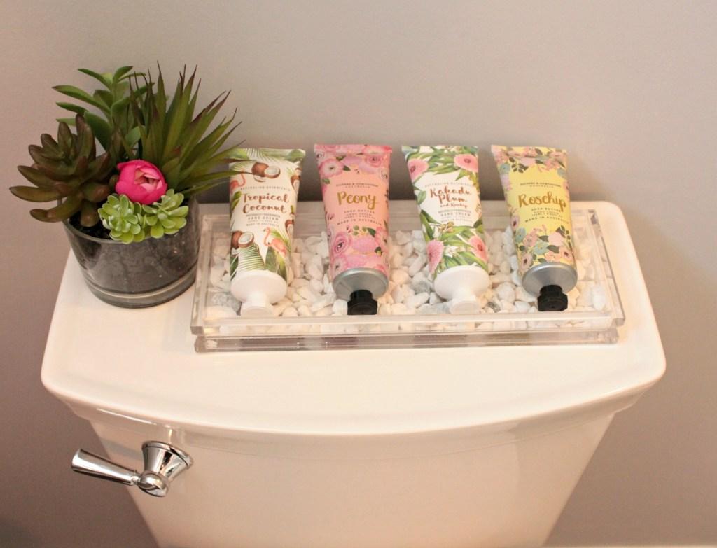 Spa Inspired Bathroom - Hand lotion