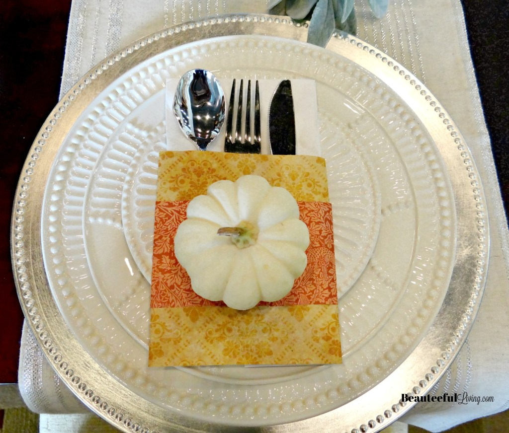 Fall Main Place Setting - Beauteeful Living