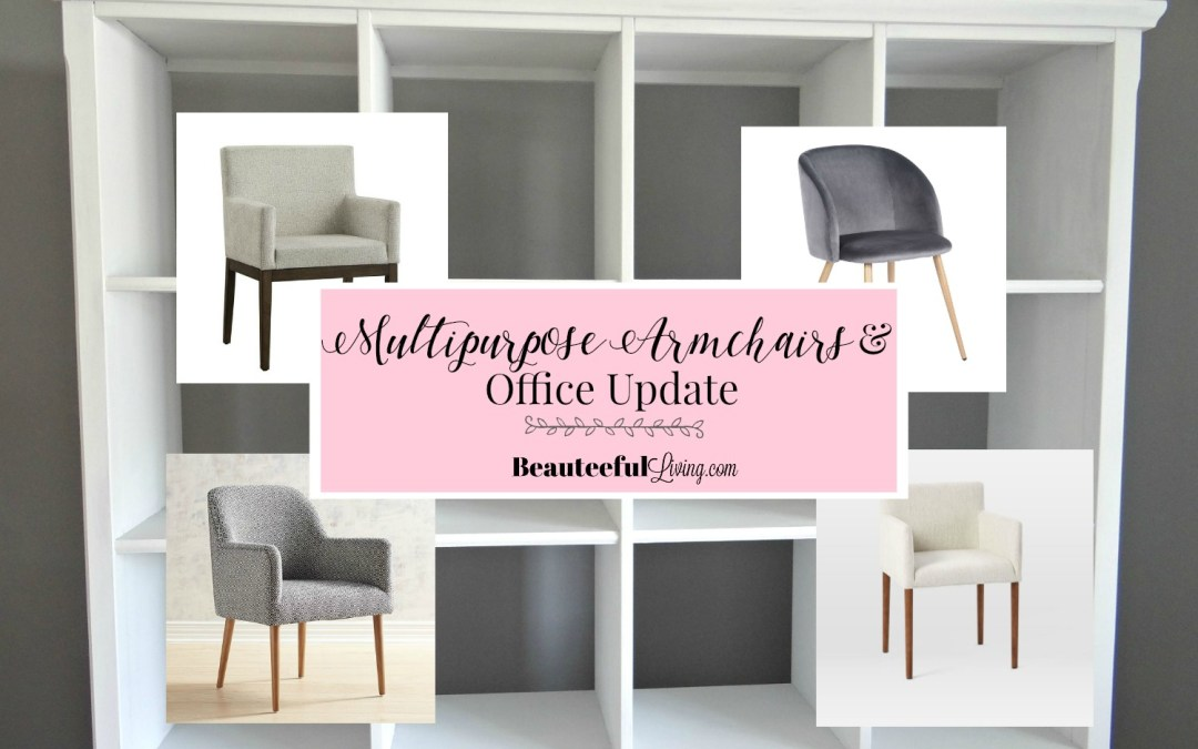 Multi-Purpose Armchairs & Office Update – ORC Week 3