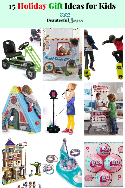 15 Holiday Gifts for Kids - Beauteeful Living