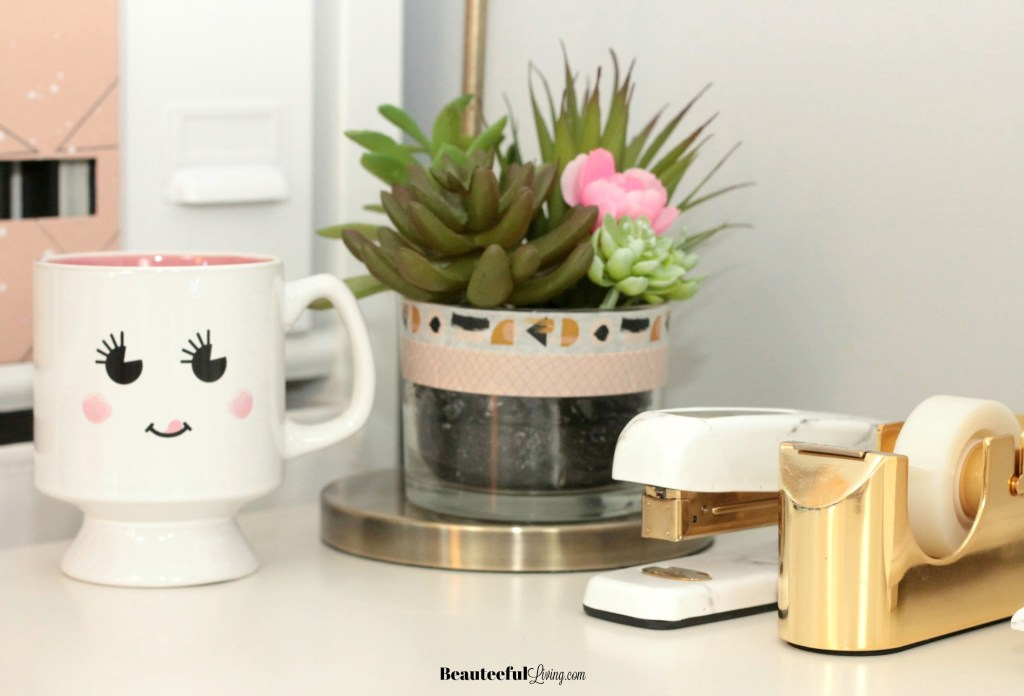 Glam Desk Accessories - Beauteeful Living