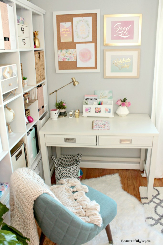 Glam Home Office - Beauteeful Living