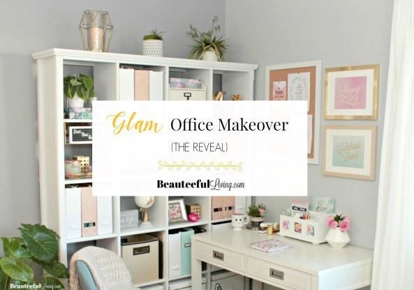 Glam Office Makeover